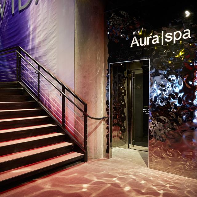 Aura Spa exterior grand opening