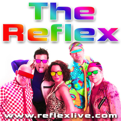 The Reflex band live performance at the Yards DC