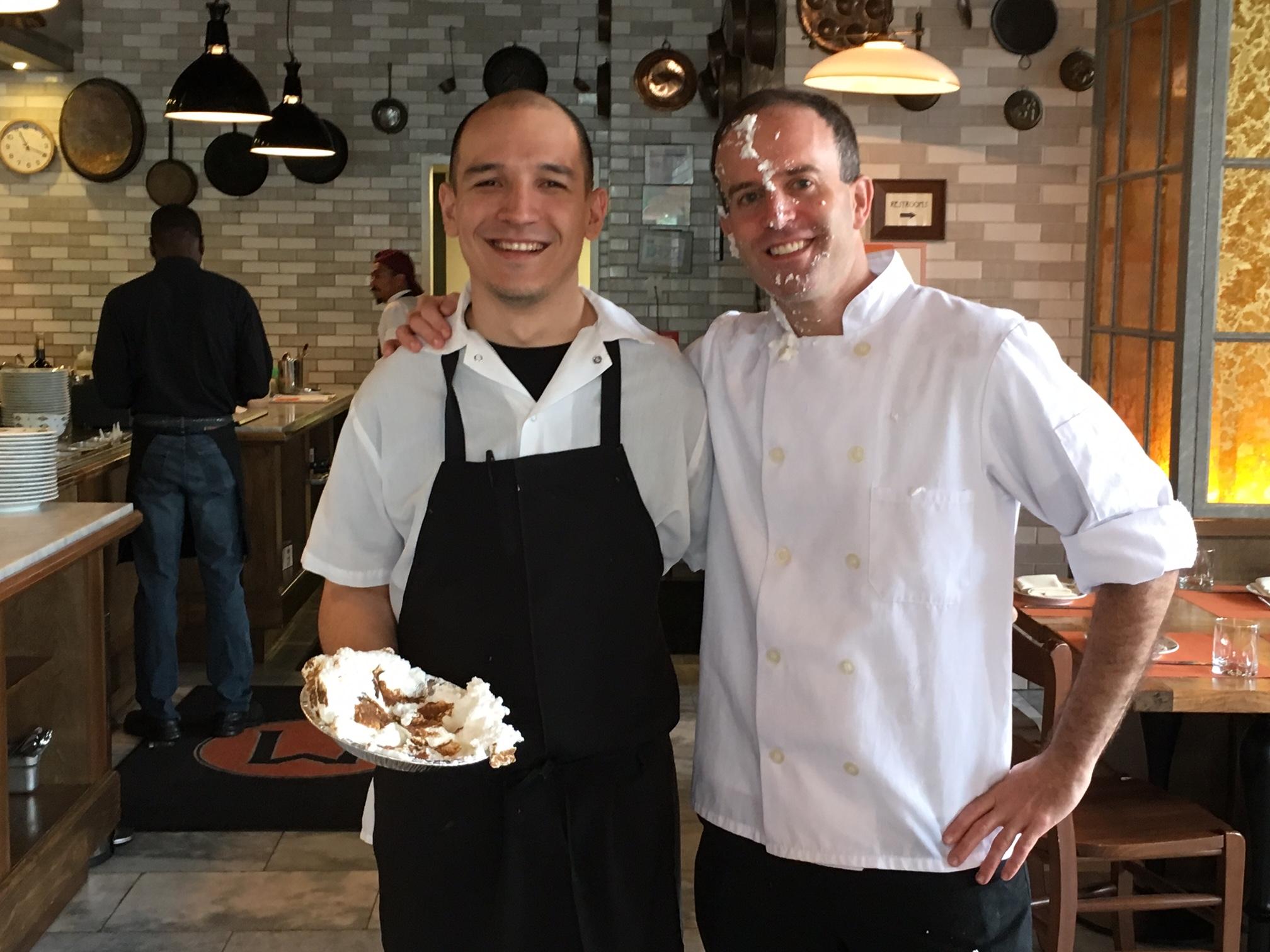Chefs celebrating event
