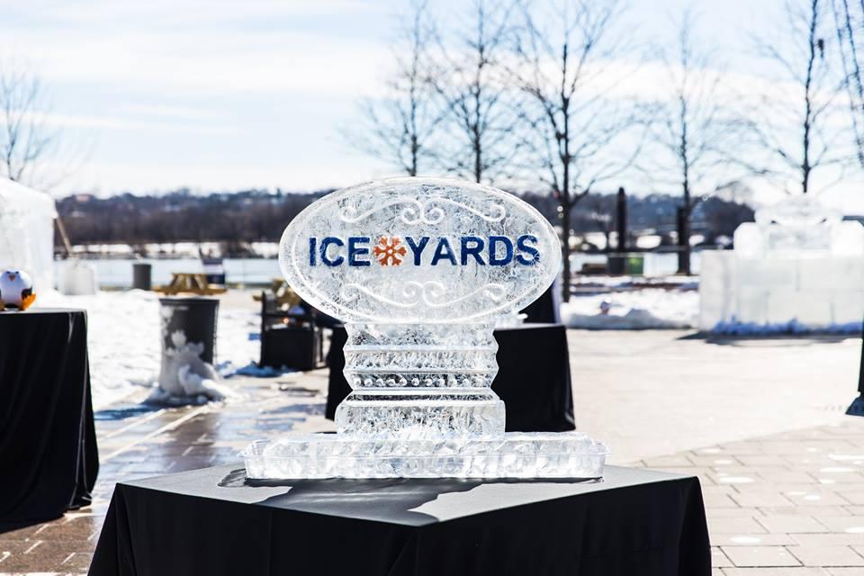 Ice Yards ice sculpture