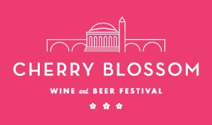 Cherry Blossom festival logo