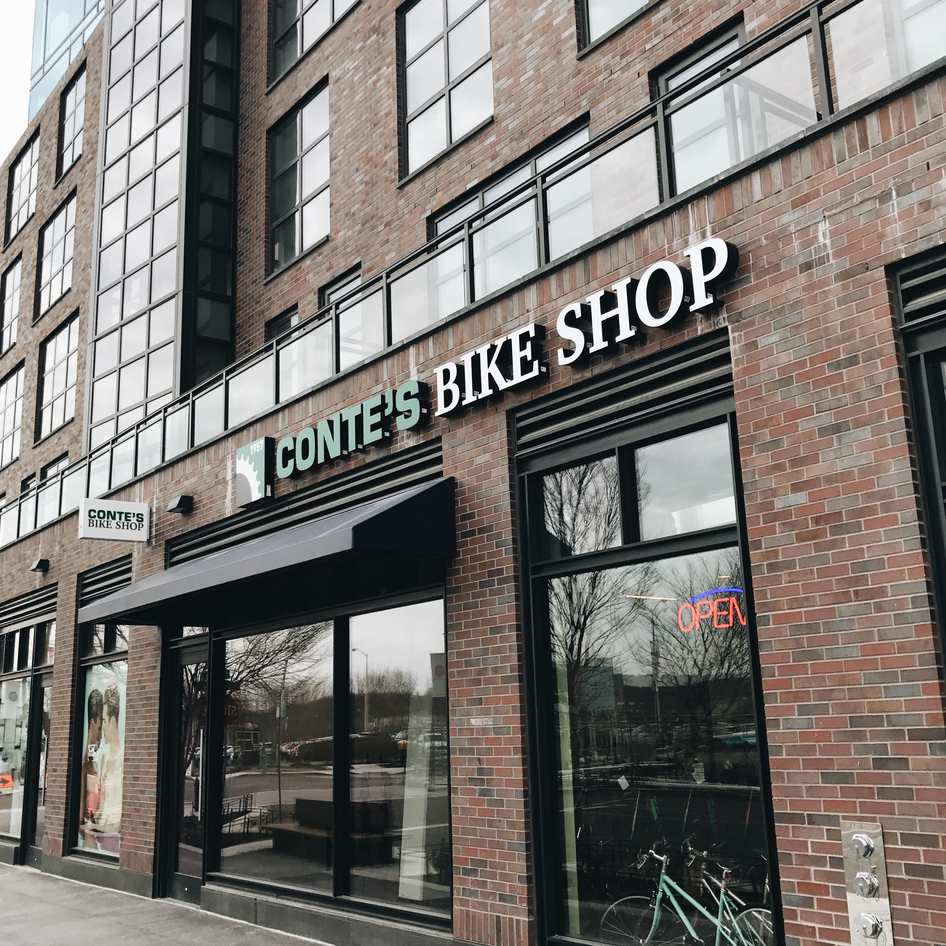 Conte's Bike shop exterior