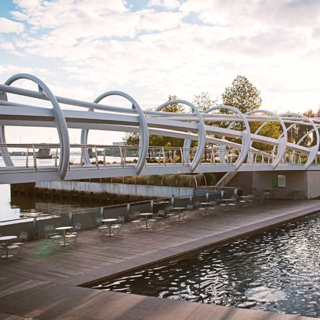 The yards bridge