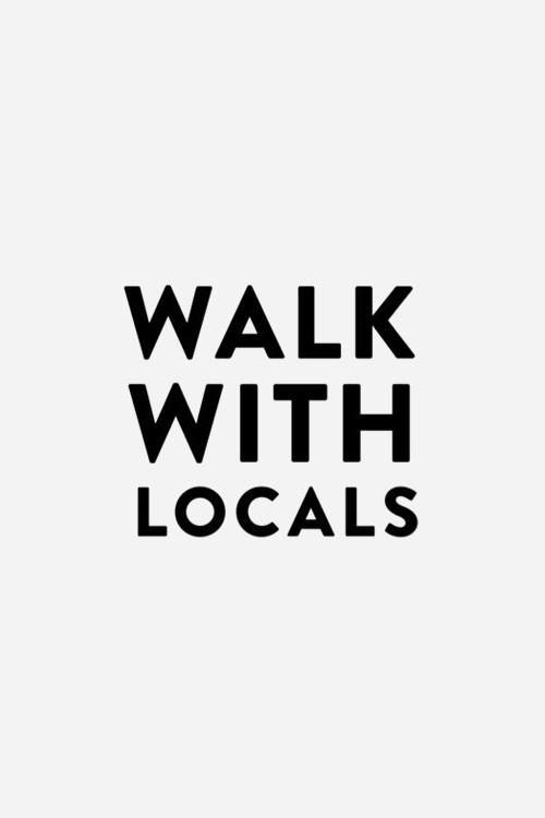 Walk with locals logo