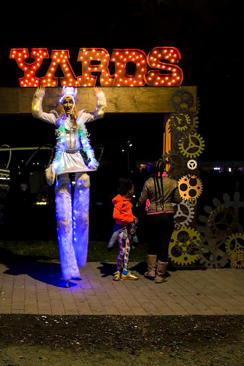 Halloween celebration at The Yards DC