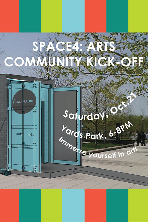 Flyer for Space4