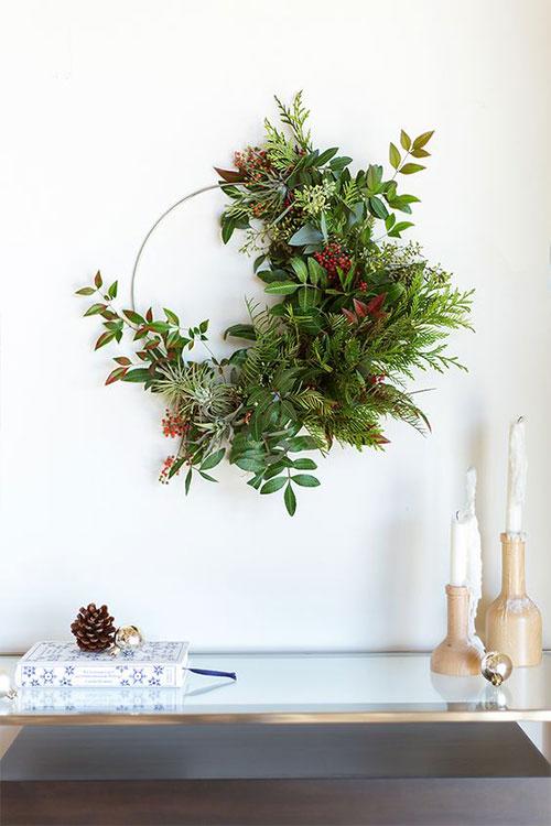 Holiday DIY wreath workshop in DC