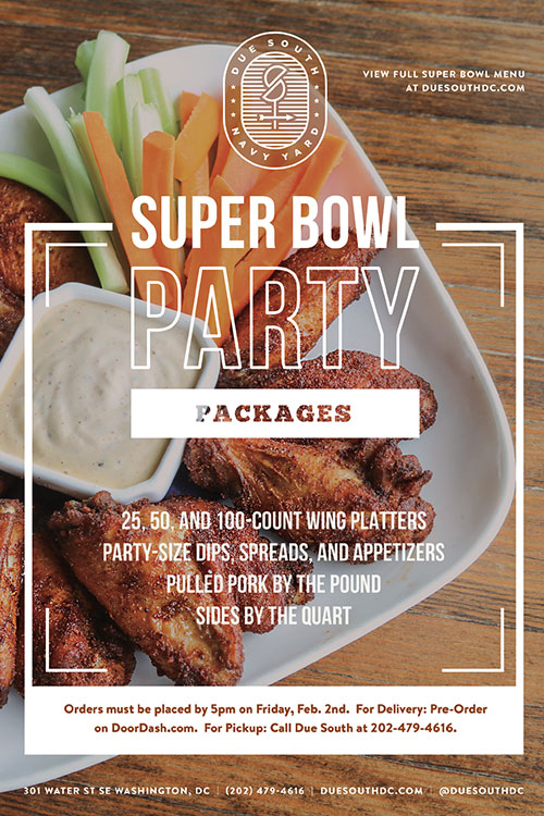 Superbowl Party Packages The Yards