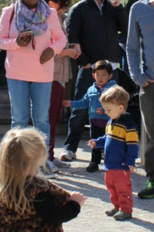 Children enjoying family-friendly outdoor activities