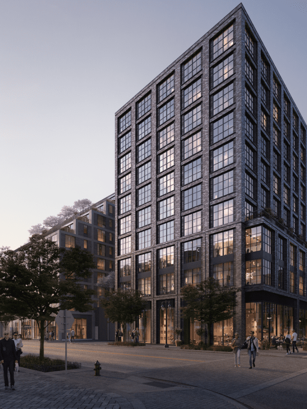 Luxury apartment building on the Anacostia waterfront