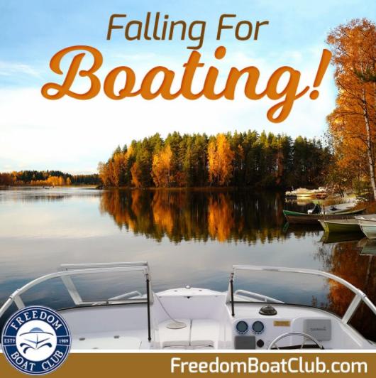 Flyer for Falling for Boating