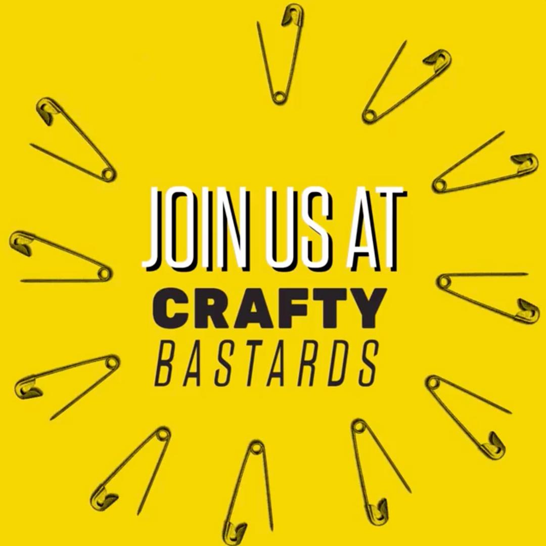 Flyer for Crafty Bastards