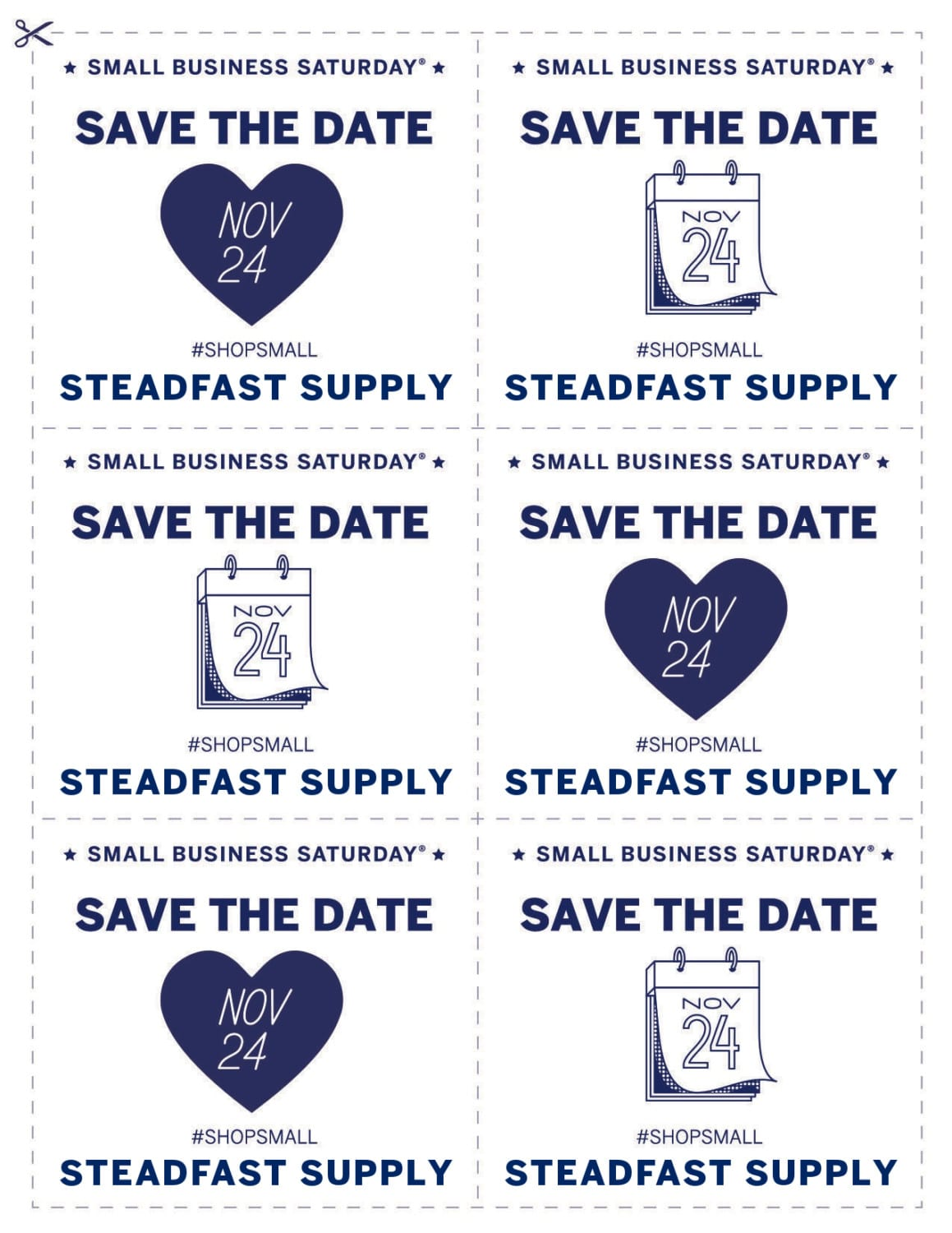 Coupon for Small Business Saturday