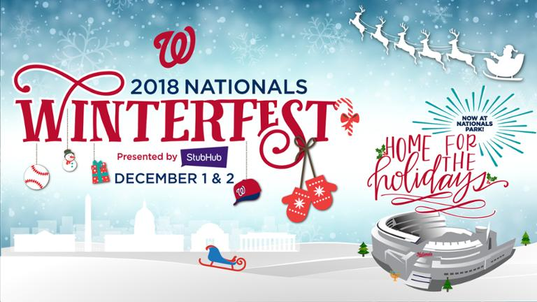 Flyer for the Nationals Winterfest