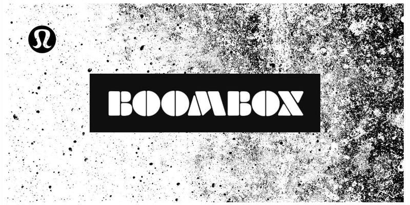 Boombox Boxing Logo