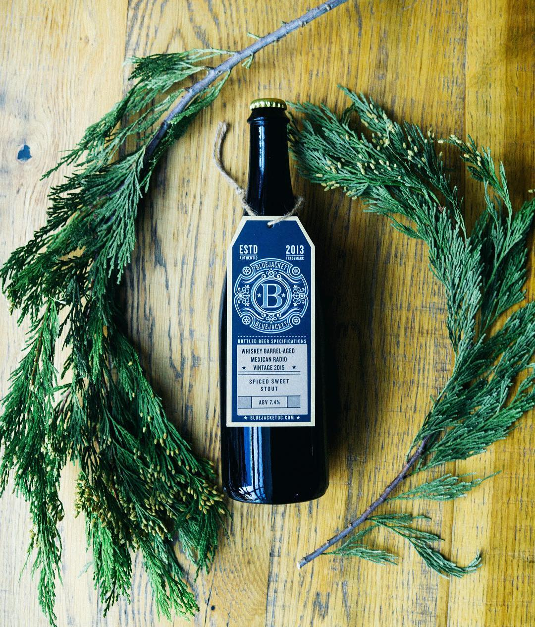 Bluejacket DC Brew With Holiday Wreath